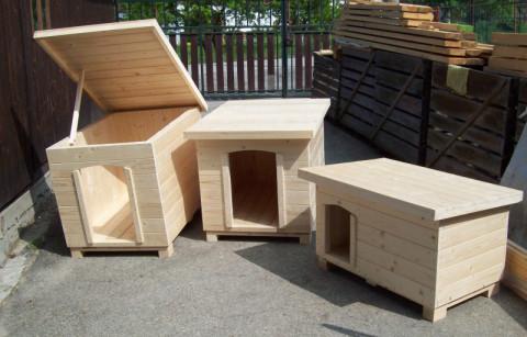 psí boudy jednokomorové